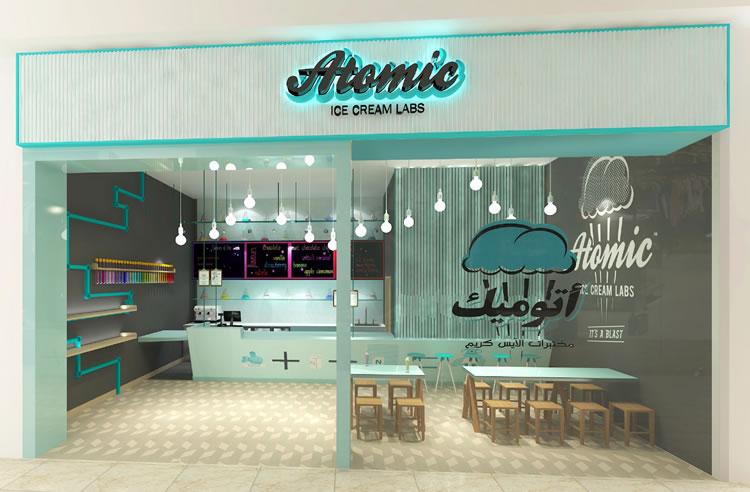 Atomic Ice Cream Lab - FranArabia